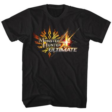 Image for Monster Hunter T-Shirt - MH4 Logo