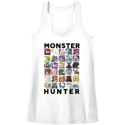 Image for Monster Hunter Let's Hunt! Juniors Racerback Tank Top