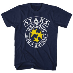 Image for Resident Evil T-Shirt - RPD S.T.A.R.S. Logo