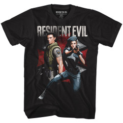 Image for Resident Evil T-Shirt - Chris and Jill