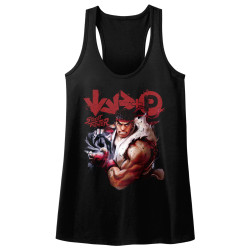 Image for Street Fighter More Juniors Racerback Tank Top