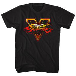 Image for Street Fighter T-Shirt - SFV Logo