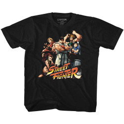 Image for Street Fighter Cool Kids Youth T-Shirt