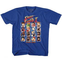 Image for Street Fighter Super Turbo HD Select Youth T-Shirt