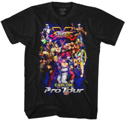 Image for Street Fighter T-Shirt - Pro Tour
