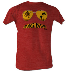 Image for Magnum PI T-Shirt - Mustache