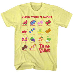 Image for Dum Dums Heather T Shirt - Dum Dums