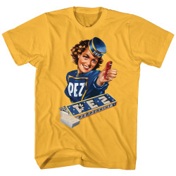 Image for Pez Heather T Shirt - Vintage Pez Girl