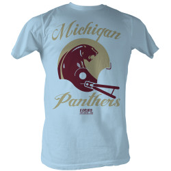Image for U.S. Football League T-Shirt - Panthers