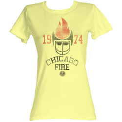 Image for World Football League Girls T-Shirt - Chicago Fire