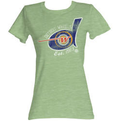 Image for World Football League Girls T-Shirt - Detroit Wheels