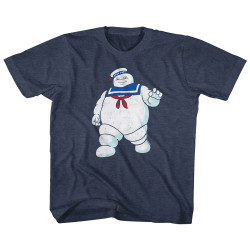 Image for The Real Ghostbusters Mr. Stay Puff Youth T-Shirt