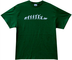 Image Closeup for Drinking Evolution T-Shirt