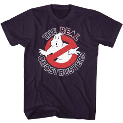 Image for The Real Ghostbusters T-Shirt - Real GB Logo