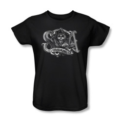 Image for Sons of Anarchy Woman's T-Shirt - Charming CA