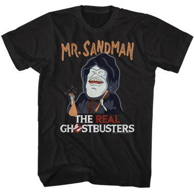 Image for The Real Ghostbusters T-Shirt - Mr. Sandman