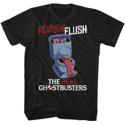 Image for The Real Ghostbusters T-Shirt - Fearsome Flush