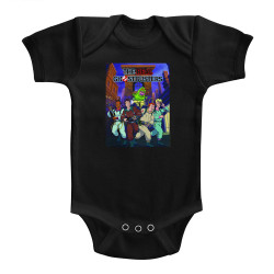 Image for The Real Ghostbusters Poster-ish Infant Baby Creeper