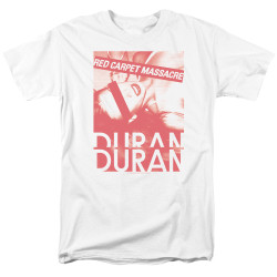Image for Duran Duran T-Shirt - Red Carpet Massacre