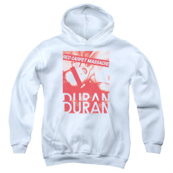 Image for Duran Duran Youth Hoodie - Red Carpet Massacre