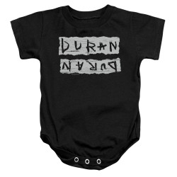 Image for Duran Duran Baby Creeper - Print Error