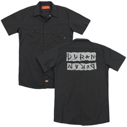 Image for Duran Duran Dickies Work Shirt - Print Error