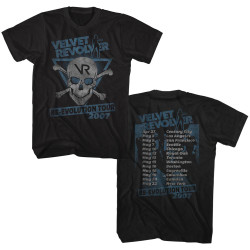 Image for Velvet Revolver T-Shirt - Re-Evolution Tour 07