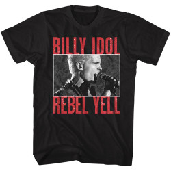 Image for Billy Idol T-Shirt - Classic Rebel Yell