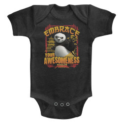 Image for Kung Fu Panda Embrace Awesomeness Infant Baby Creeper