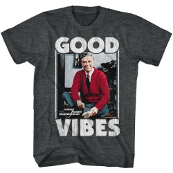 Image for Mr Rogers T Shirt - Good Vibes