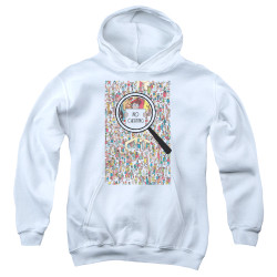 Image for Where's Waldo Youth Hoodie - No Cheating