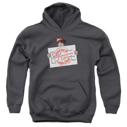 Image for Where's Waldo Youth Hoodie - Witness Protection