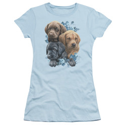 Image for Wild Wings Collection Girls T-Shirt - Puppy Pile