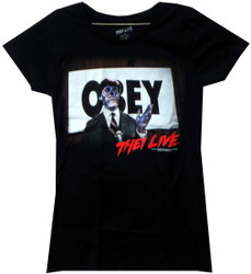 Image for They Live Girls T-Shirt - Obey