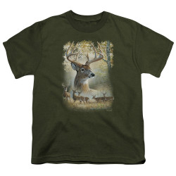 Image for Wild Wings Collection Youth T-Shirt - Bucks
