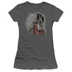Image for Wild Wings Collection Girls T-Shirt - Painted Horses