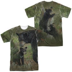 Image for Wild Wings Collection Sublimated T-Shirt - Moms Never Far  100% polyester