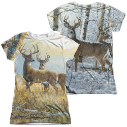 Image for Wild Wings Collection Girls Sublimated T-Shirt - Warm and Cold