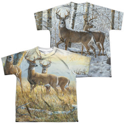 Image for Wild Wings Collection Youth Sublimated T-Shirt - Warm and Cold
