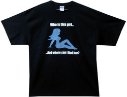 Image for Who is This Girl T-Shirt