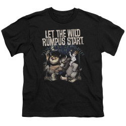 Image for Where the Wild Things Are Youth T-Shirt - Wild Rumpus