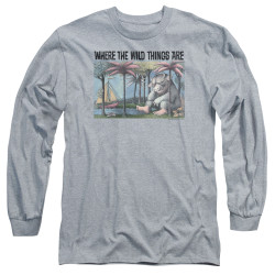 Image for Where the Wild Things Are Long Sleeve Shirt - Cover Art