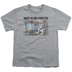 Image for Where the Wild Things Are Youth T-Shirt - Cover Art