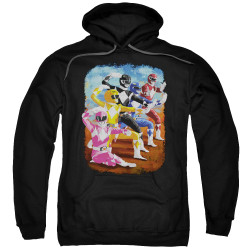 Image for Mighty Morphin Power Rangers Hoodie - Impressionist Rangers