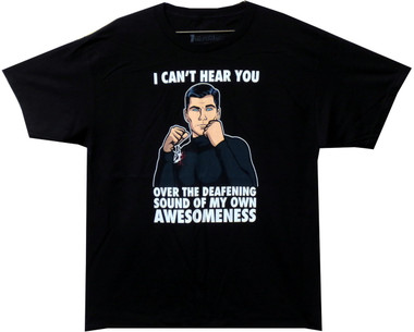 Image for Archer T-Shirt - Deafening Awesomeness