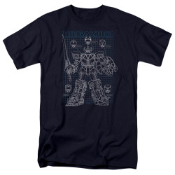 Image for Mighty Morphin Power Rangers T-Shirt - Mega Plans