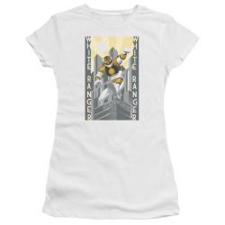Image for Mighty Morphin Power Rangers Girls T-Shirt - White Ranger Duo