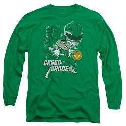 Image for Mighty Morphin Power Rangers Long Sleeve Shirt - Green Ranger