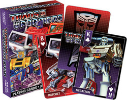 Image for Transformers Playing Cards