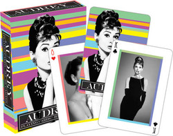 Image for Audrey Hepburn Playing Cards